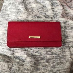 Red Michael kors clutch / wallet